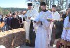 osvestani temelji crkve na beloj zemlji