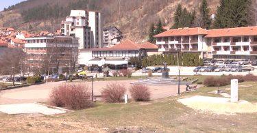 Rezultat slika za Radovi na proširenju Trga Vojvode Bojovića u Novoj Varoši